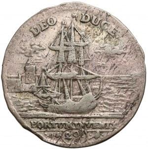 August II Mocny, Dwugrosz z okazji śmierci Anny Zofii 1717