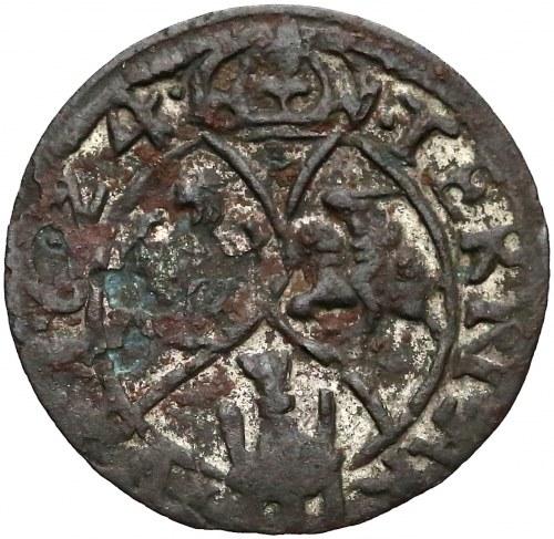 Zygmunt III Waza, Łobżenica, Trzeciak 1624 - oznaczenie III - TERNARIVS