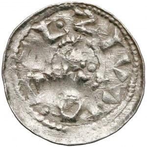 Bolesław II Śmiały, Denar typu książęcego - w polu miecz