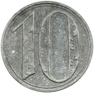 Gdańsk, 10 fenigów 1920 - DUŻE cyfry - odm. 1
