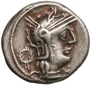 L. Opimius (131 r pne), Denar