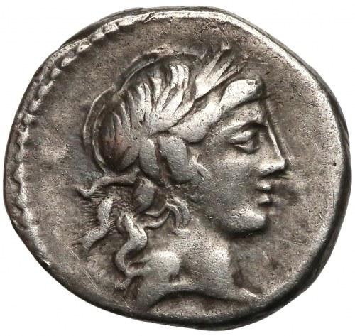 Lucius Marcius Censorinus (82 r pne), Denar