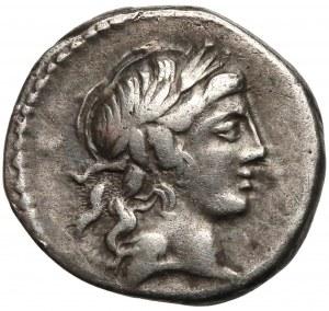 Republika, Lucius Marcius Censorinus (82 r. p.n.e), Denar
