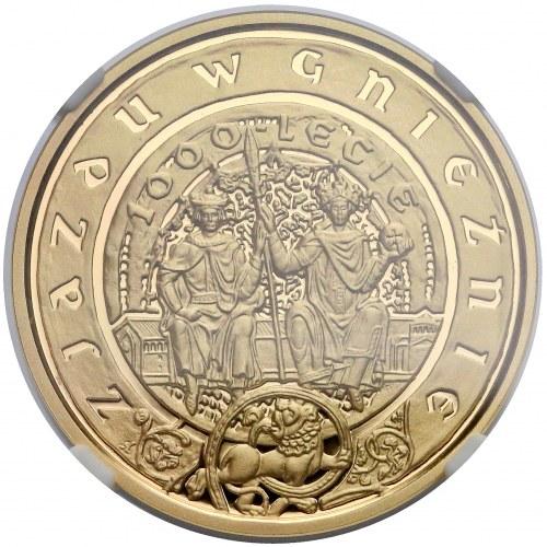 200 złotych 2000 Zjazd w Gnieźnie - NGC PF70 UC