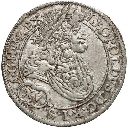 Leopold I, 15 krajcarów Wrocław 1694