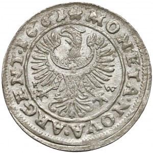 Ludwik IV legnicki, 3 krajcary 1661 FW