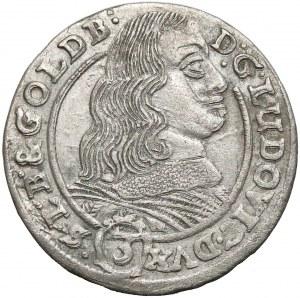 Ludwik IV legnicki, 3 krajcary 1660 FW