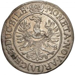 Ludwika, 6 krajcarów Brzeg 1673 CB