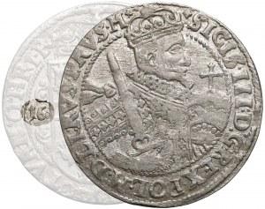 Zygmunt III Waza, Ort Bydgoszcz 1623 - błąd 166-23