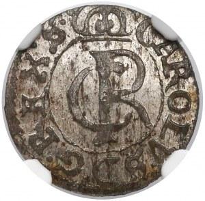 Karol XI, Szeląg Ryga 1665