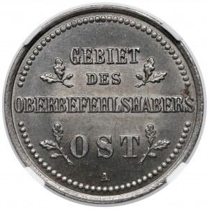 Ober-Ost. 2 kopiejki Berlin 1916-A - NGC MS65