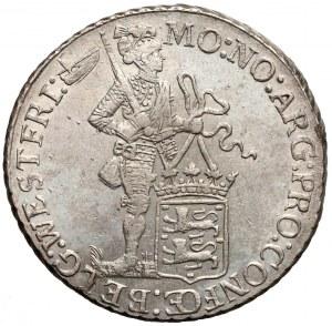 Niderlandy, Zachodnia Fryzja, Srebrny dukat Utrecht 1772 - rzadki