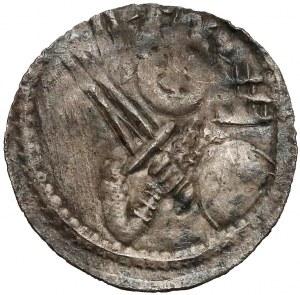 Władysław II Wygnaniec, Denar - Książę i Biskup - podwójne E
