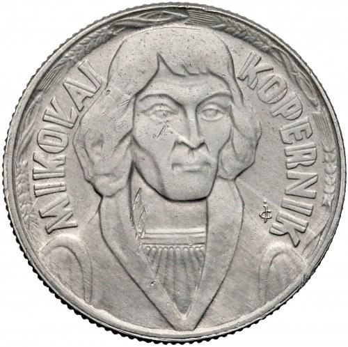 Próba ALUMINIUM 10 złotych 1965 Kopernik - nakład 5 szt.