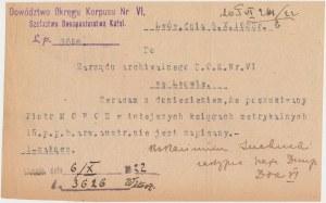 Deklaracja na 5% Długoterminową Wewnętrzną Pożyczkę z 1920 r. - RZADKOŚĆ
