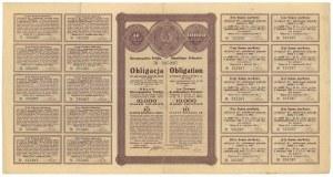 8% Państwowa Pożyczka Złota 1922, Obligacja na 10.000 mkp / 10 złotych