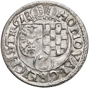 Jan Chrystian i Jerzy Rudolf, 3 krajcary 1618