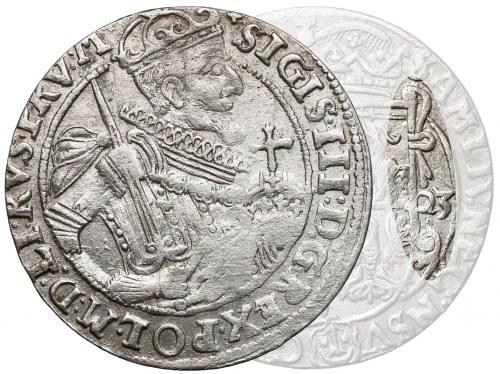 Zygmunt III Waza, Ort Bydgoszcz 1623 - kokardy - rzadkie