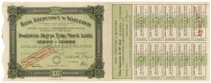 Bank Kredytowy w Warszawie, Em.11, 20x 1.000 mk 1923
