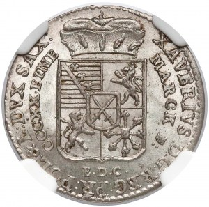 Ksawery, 1/24 talara Drezno 1765 EDC