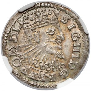 Zygmunt III Waza, Trojak Poznań 1597 - POLONI