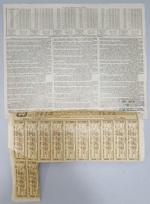 4.5% 7-ej Pożyczki miasta Warszawy, Obligacja na 100 rub 1903