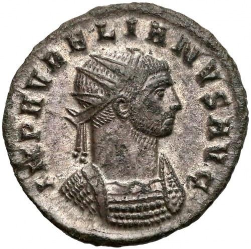 Aurelian, Antoninian, Cyzicus - RESTITVTOR EXERCITI