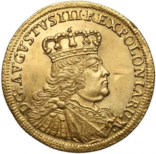 August III Sas, Dukat Drezno 1754