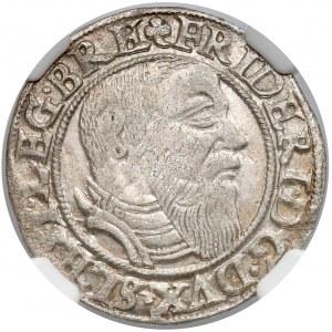 Fryderyk II, Grosz Legnica 1545