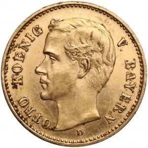 Niemcy, Bawaria, 10 marek 1905-D