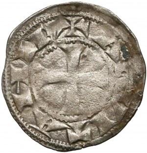 Francja, Ryszard Lwie serce jako książę Akwitanii (1172-1185), Denar Bordeaux bez daty