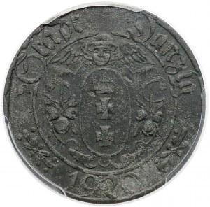 Gdańsk, 10 fenigów 1920 - Stumpf & Sohn - 69 perełek - rzadkie