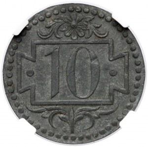 Gdańsk, 10 fenigów 1920 - 53 perełki - rzadkie