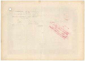 Kolej wąskotorowa Rudna - Polkowice, Akcja zwykła na 1.000 mk 1900