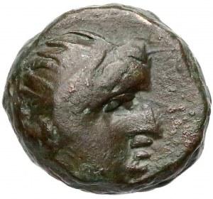 Grecja, Pantikapajon, AE11 (II/Iw. pne)