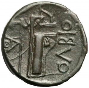 Grecja, Olbia, AE22 (330-300 pne) - ładny