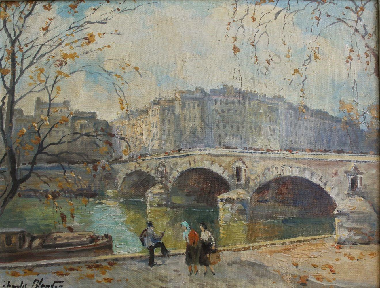 Charles Blondin (1913-1991), Pont Marie w Paryżu