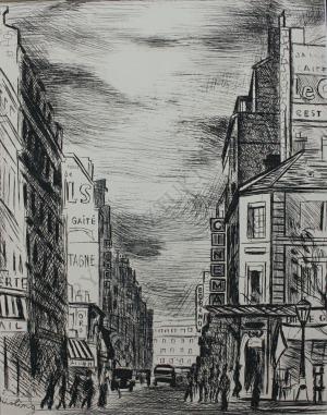 Mojżesz Kisling (1891-1953), Rue de la Gaité