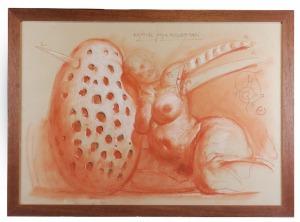 Franciszek STAROWIEYSKI (1930-2009), Ugięcie jaja wieczności, 2007