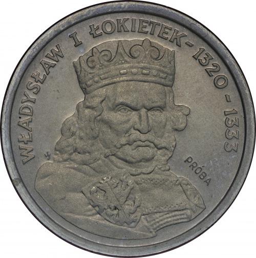 Próba CuNi 200 złotych 1986 Władysław I Łokietek
