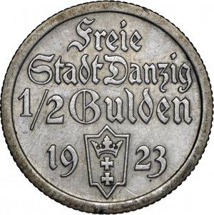 1/2 Guldena 1923 (Koga)