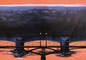 Henryk Laskowski, Pont des Arts, 2004