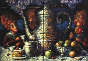 Edward Gałustow, Wielkie picie herbaty, 2017
