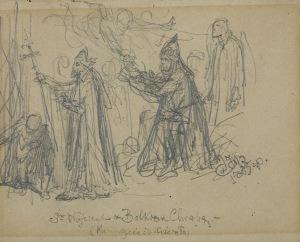 Matejko Jan, ŚW. WOJCIECH I BOLESŁAW CHROBRY, 1865