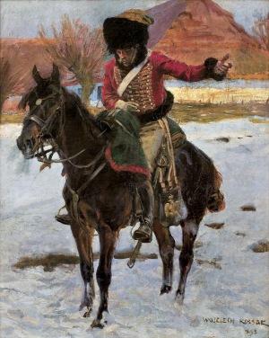 Kossak Wojciech, HUZAR NAPOLEOŃSKI, 1894-1896, 1907
