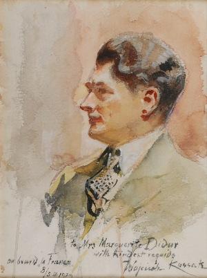 Wojciech KOSSAK (1856-1942), Portret Adama Didura
