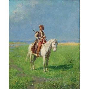 Władysław Karol SZERNER (syn) (1870-1939), Lisowczyk