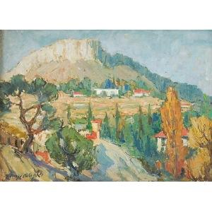 Stanisław KRZYSZTAŁOWSKI (1903-1990), Lazurowe wybrzeże