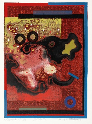 Henryk PŁÓCIENNIK (ur. 1933), Kompozycja abstrakcyjna, 2010