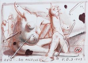 Franciszek STAROWIEYSKI (1930-2009), Rym do alleluja, 2007